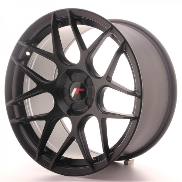 Japan Racing JR18 18x9,5 ET30-40 5H Blank Matt Bla