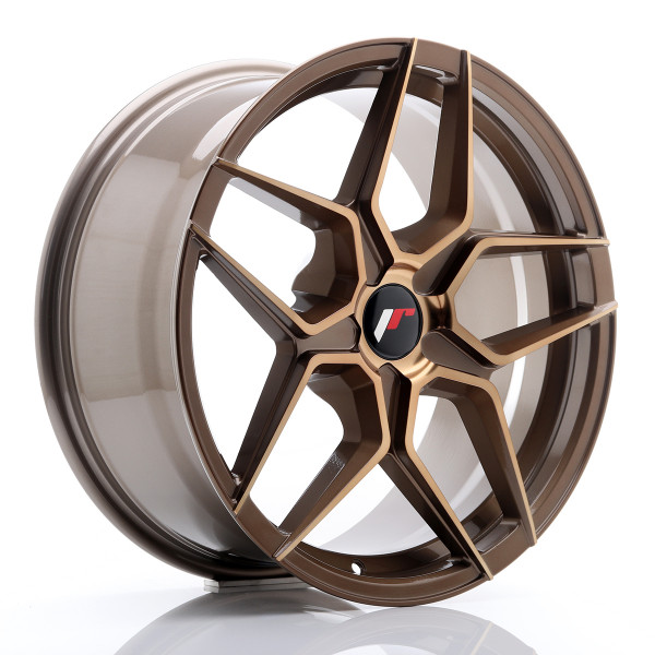 JR Wheels JR34 18x8 ET20-42 5H BLANK Platinum Bronze