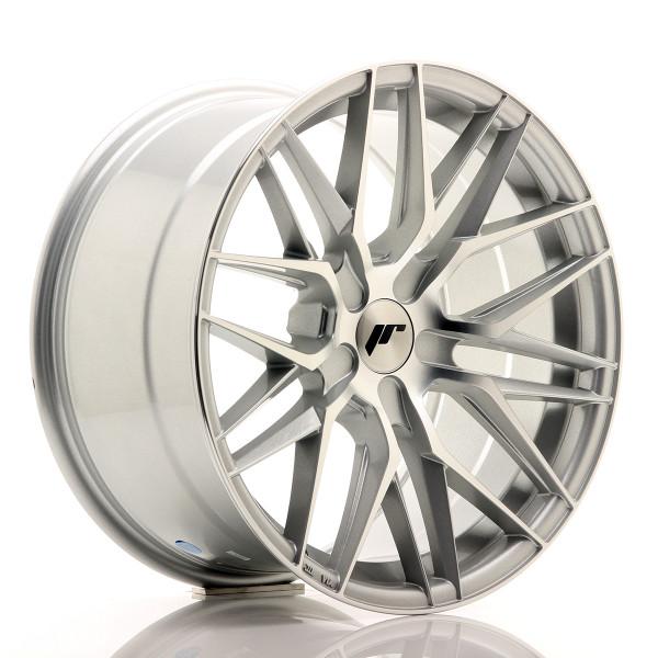 JR Wheels JR28 18x9,5 ET20-40 5H BLANK Silver Machined Face