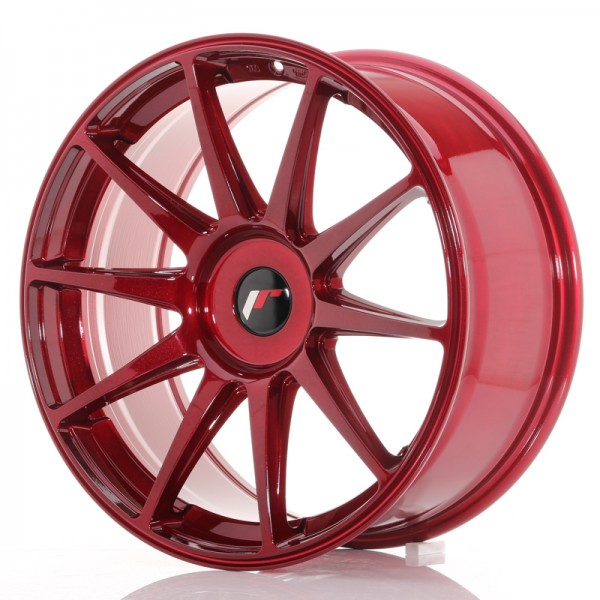 JR Wheels JR11 19x8,5 ET35-40 BLANK Platinum Red