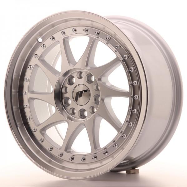 JR Wheels JR26 17x8 ET35 5x100/114 Silver Machined Face