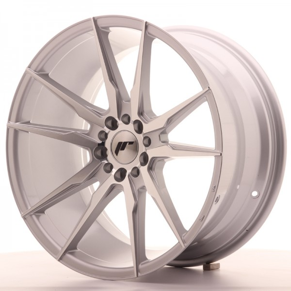JR Wheels JR21 19x9,5 ET35 5x100/120 Silver Machined Face