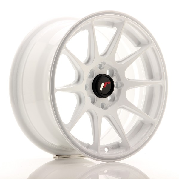 JR Wheels JR11 15x7 ET30 4x100/108 White