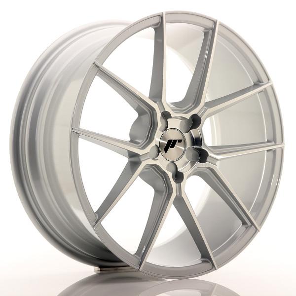 JR Wheels JR30 20x8,5 ET20-40 5H BLANK Silver Machined Face
