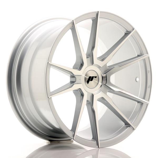 JR Wheels JR21 18x9,5 ET20-40 BLANK Silver Machined Face
