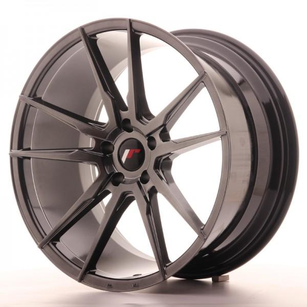 JR Wheels JR21 20x10 ET30 5x112 Hyper Black