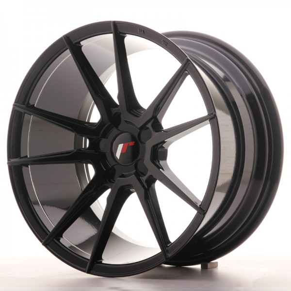 JR Wheels JR21 18x9,5 ET20-40 5H BLANK Gloss Black