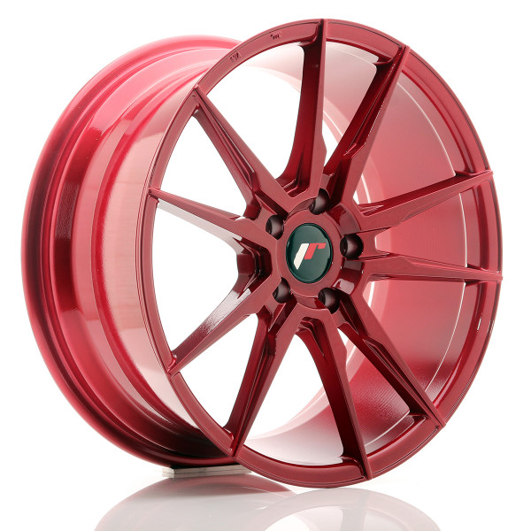 JR Wheels JR21 19x8,5 ET35 5x120 Platinum Red