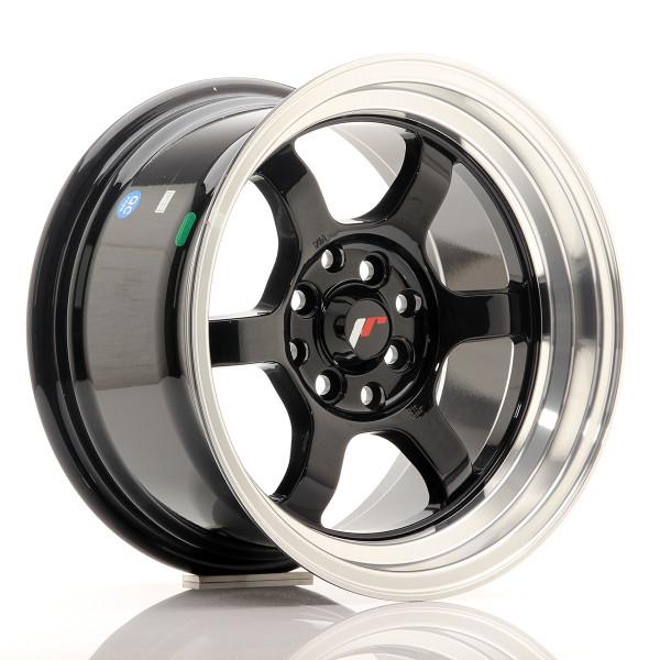 JR Wheels JR12 15x8,5 ET13 4x100/114 Gloss Black