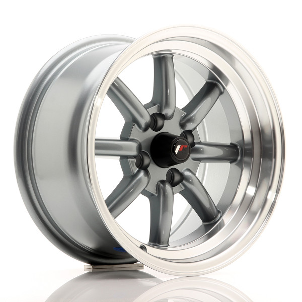 JR Wheels JR19 15x8 ET0 4x100 Gun Metal