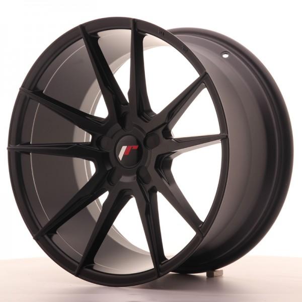 JR Wheels JR21 19x9,5 ET20-40 5H BLANK Matt Black