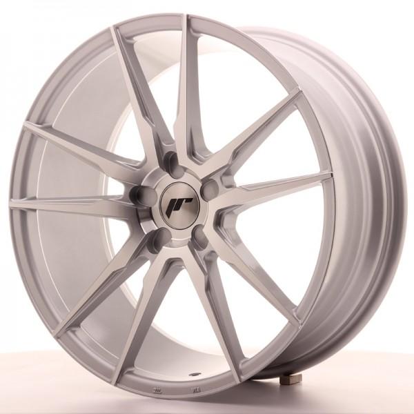 JR Wheels JR21 20x8,5 ET20-40 5H BLANK Silver Machined Face