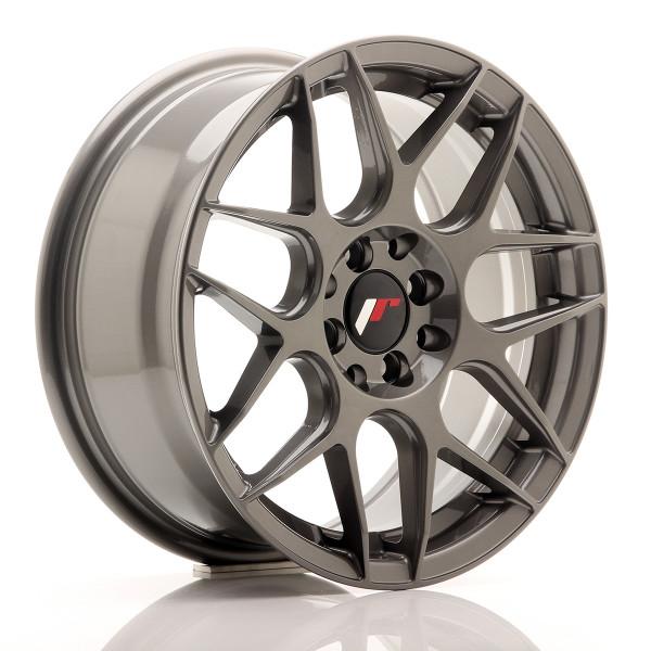 JR Wheels JR18 16x7 ET35 4x100/114,3 Gun Metal