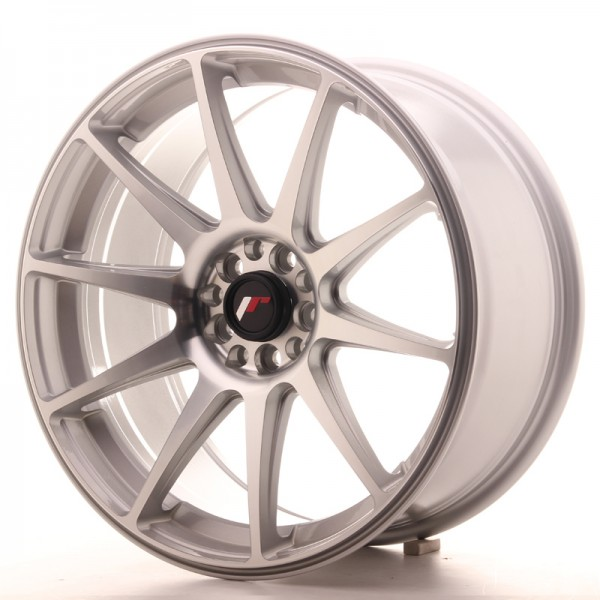 JR Wheels JR11 18x8,5 ET35 5x100/108 Silver Machined Face