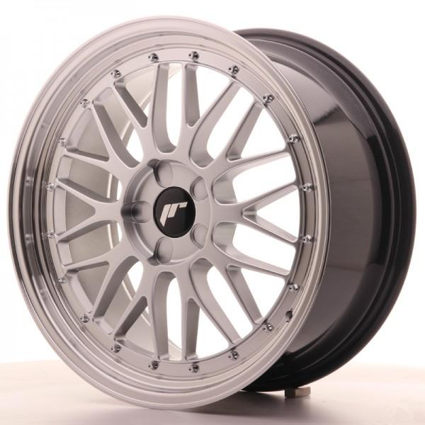 JR Wheels JR23 19x8,5 ET20-50 5H BLANK Hyper Silver w/Machined Lip