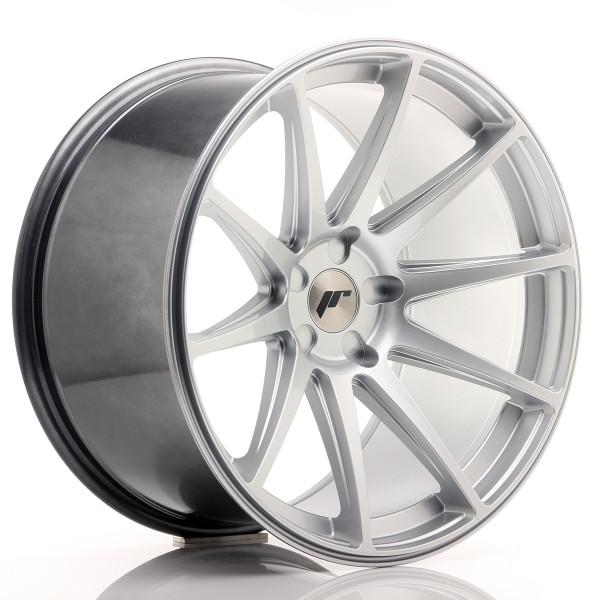 JR Wheels JR11 20x11 ET20-30 5H BLANK Hyper Silver