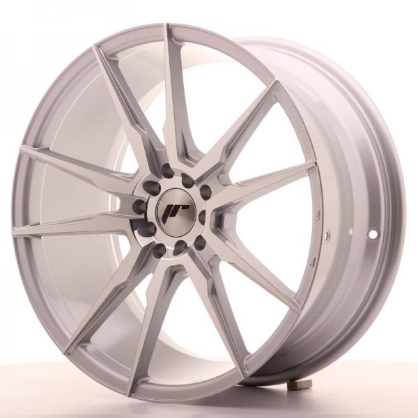 JR Wheels JR21 19x8,5 ET40 5x112/114 Silver Machined Face