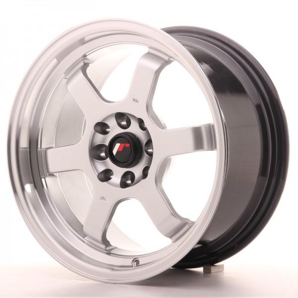 JR Wheels JR12 16x8 ET33 4x100/108 Hyper Silver w/Machined Lip