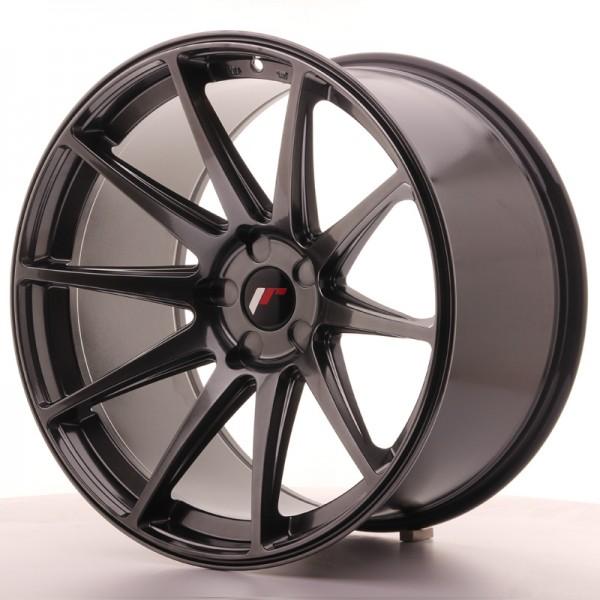 JR Wheels JR11 20x11 ET20-30 5H BLANK Hyper Black