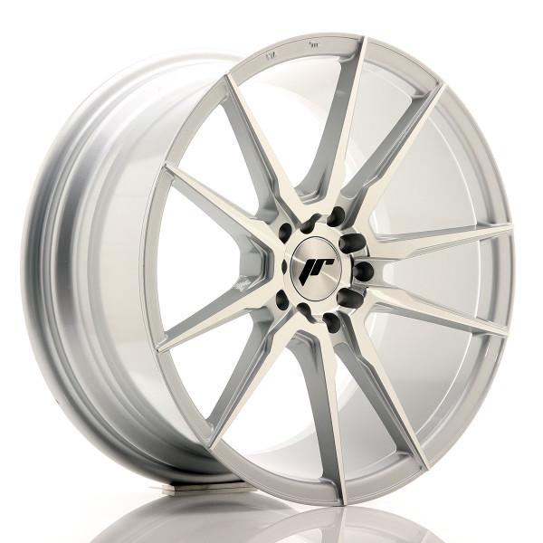 JR Wheels JR21 18x8,5 ET35 5x100/120 Silver Machined Face