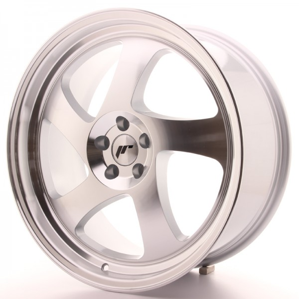 JR Wheels JR15 19x8,5 ET35-40 BLANK Silver Machined Face