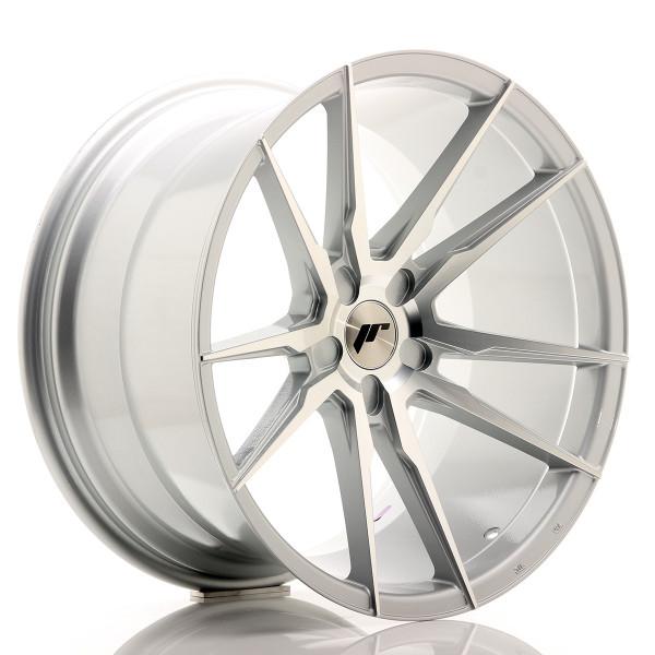 JR Wheels JR21 20x11 ET30-50 5H BLANK Silver Machined Face