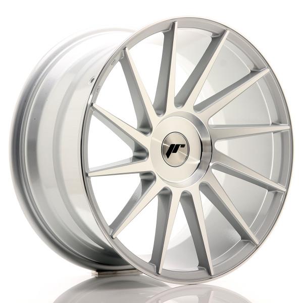 JR Wheels JR22 19x9,5 ET20-40 BLANK Silver Machined Face