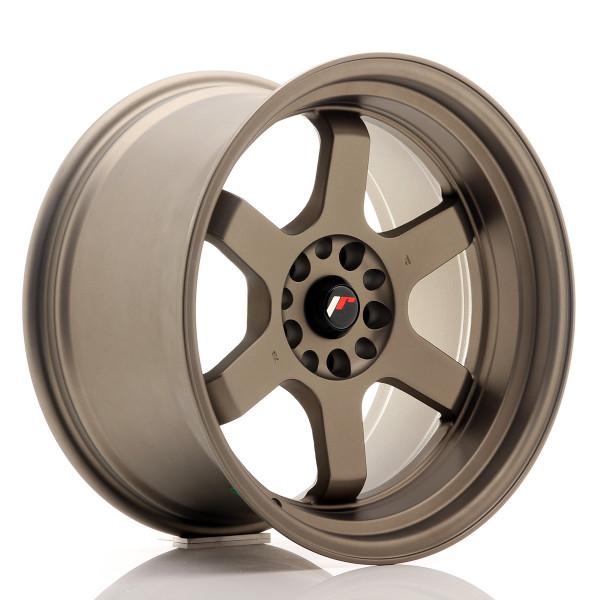 JR Wheels JR12 18x10 ET20 5x114/120 Matt Bronze