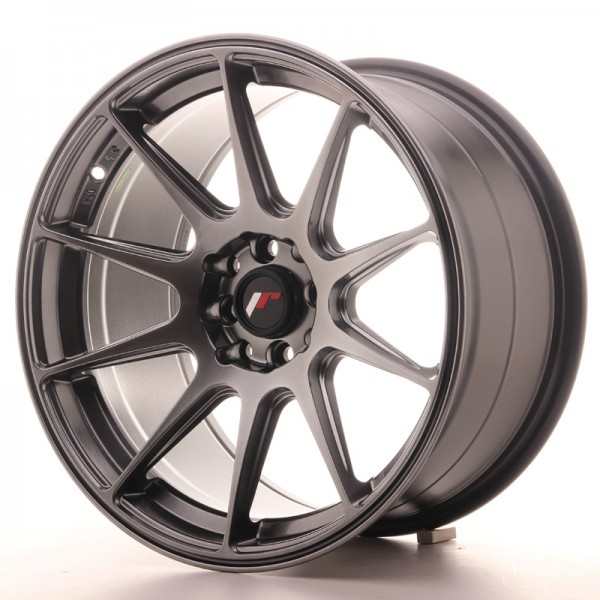 JR Wheels JR11 17x9 ET35 5x100/114 Hyper Black