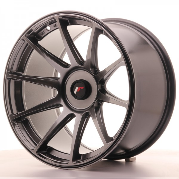 JR Wheels JR11 18x10,5 ET22-25 BLANK Dark Hyper Black