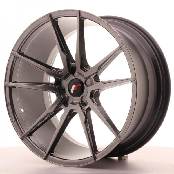 JR Wheels JR21 20x10 ET20-40 5H BLANK Hyper Black
