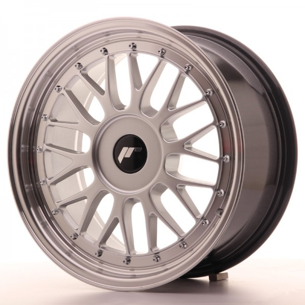 Japan Racing JR23 17x8 ET40-45 Blank Hyper Silver