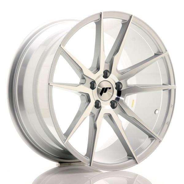 JR Wheels JR21 19x9,5 ET35 5x120 Silver Machined Face