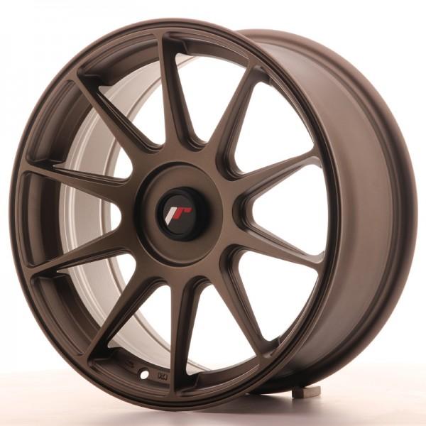 JR Wheels JR11 17x7,25 ET35-40 BLANK Matt Bronze