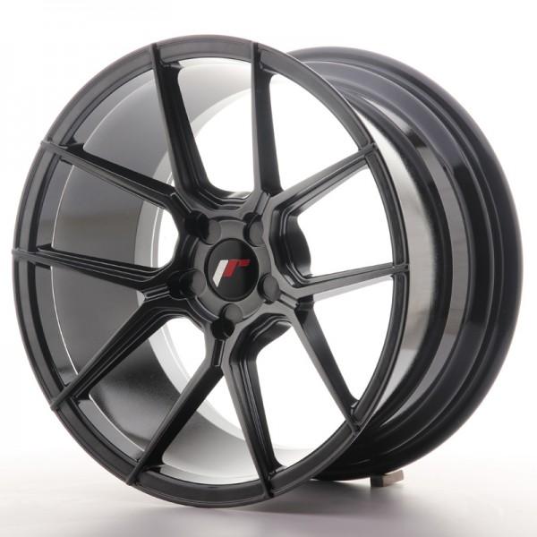 JR Wheels JR30 18x9,5 ET20-40 5H BLANK Hyper Black