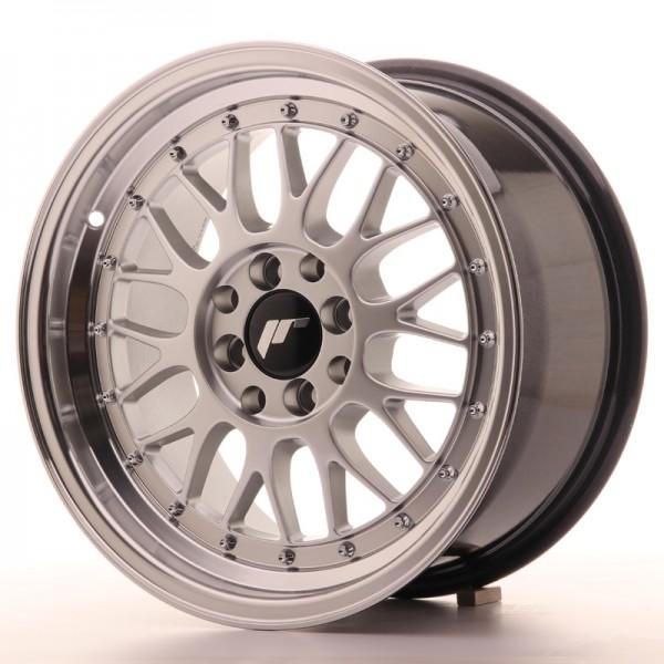 JR Wheels JR23 16x8 ET35 4x100/114,3 Hyper Silver w/Machined Lip