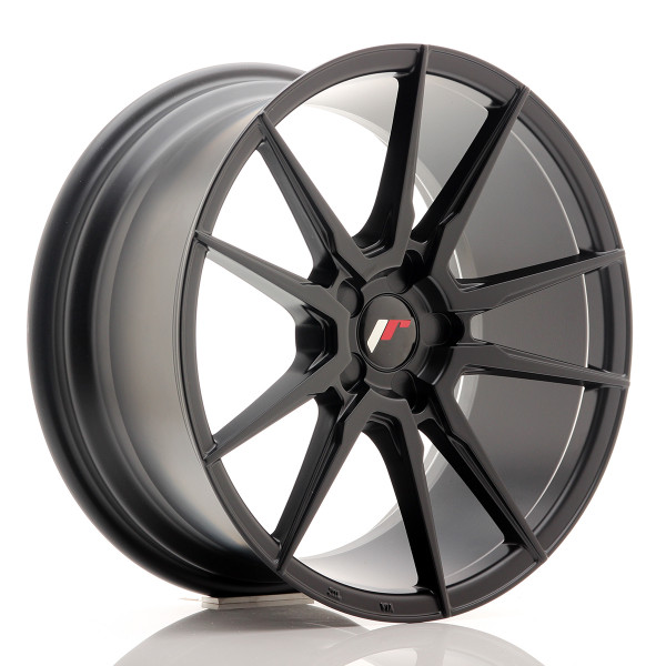 JR Wheels JR21 18x8,5 ET40 5H BLANK Matt Black