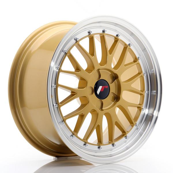 JR Wheels JR23 18x8,5 ET25-48 5H BLANK Gold w/Machined Lip