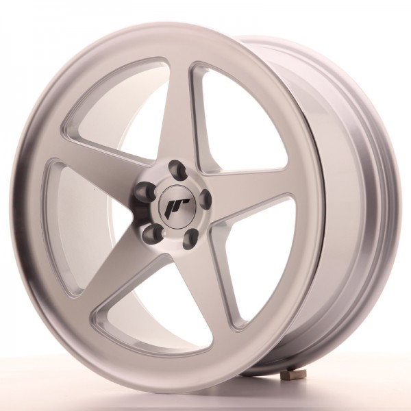Japan Racing JR24 18x8,5 ET38 5x100 Machined Silve