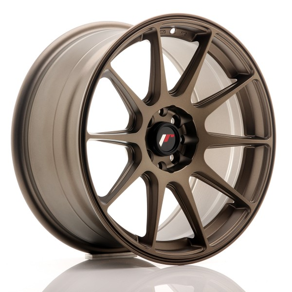 JR Wheels JR11 17x8,25 ET25 4x100/108 Matt Bronze