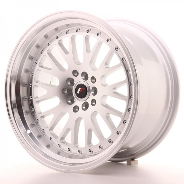 JR Wheels JR10 18x10,5 ET25 5x114/120 Silver Machined Face