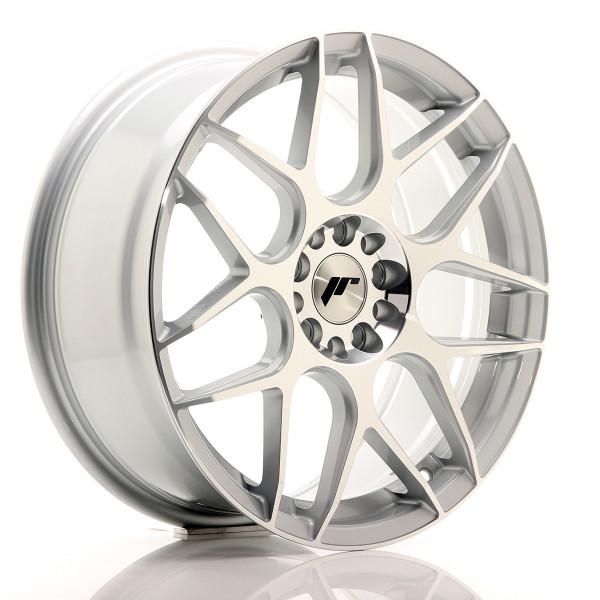JR Wheels JR18 18x7,5 ET40 5x112/114 Silver Mac