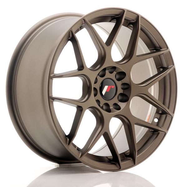 JR Wheels JR18 18x8,5 ET25 5x114/120 Matt Bronz