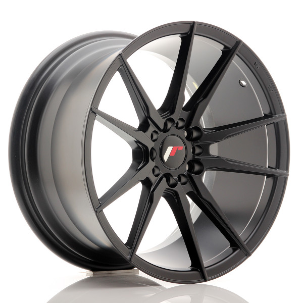 JR Wheels JR21 18x9,5 ET40 5x112/114 Matt Black