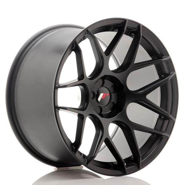 JR Wheels JR18 19x11 ET15-30 5H Blank Matt Black