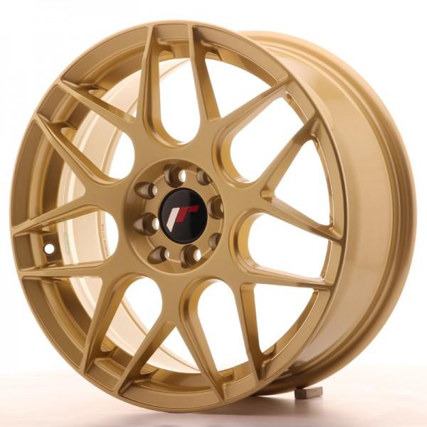 Japan Racing JR18 17x7 ET40 4x100/114 Gold
