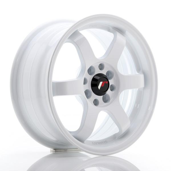 JR Wheels JR3 15x7 ET40 4x100/114 White