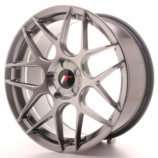JR Wheels JR18 18x8,5 ET35-45 5H BLANK Hyper Black