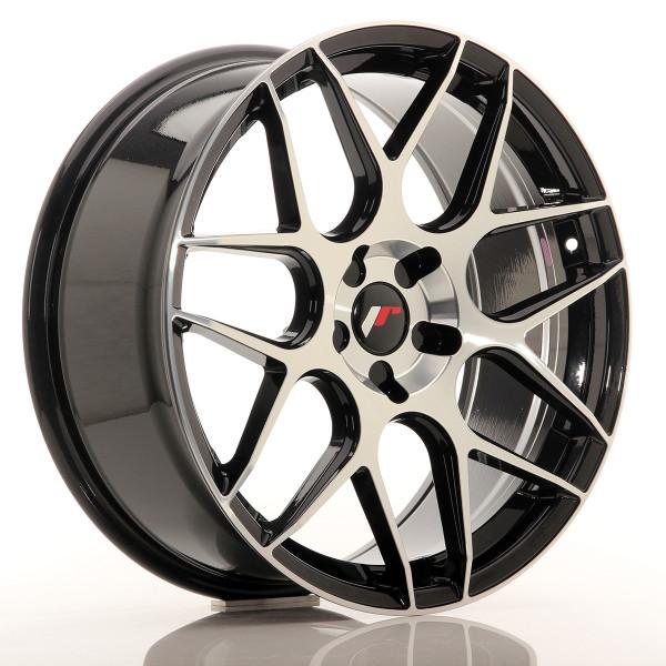 JR Wheels JR18 20x8,5 ET20-40 5H BLANK Gloss Black Machined Face