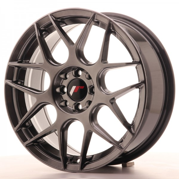 JR Wheels JR18 17x7 ET40 5x100/114 Hyper Black